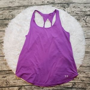 Under Armour Purple Fly-By 2.0 Running Tank Top